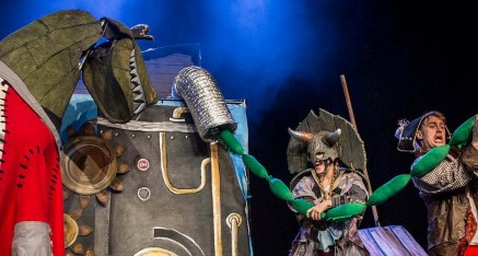Captain Flinn and the Pirate Dinosaurs: The Magic Cutlass (Leicester Square Spiegeltent)