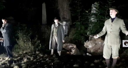 The Hound of the Baskervilles (Abney Park Cemetery)