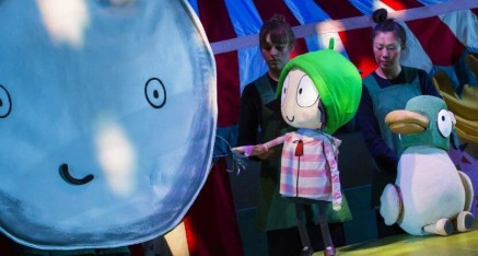 Sarah and Duck's Big Top Birthday (Polka Theatre, Wimbledon)